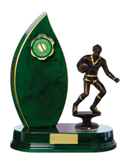 Flame offset Timber Trophy