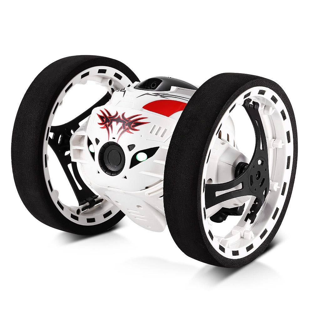 Remote Control Jumping Bounce Car (White)