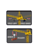 "Load image into Gallery viewer, 50"" Wired RC Crawler Crane with Tower Light and Adjustable Height"