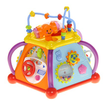 Load image into Gallery viewer, Musical Activity Cube Play Center With Lights