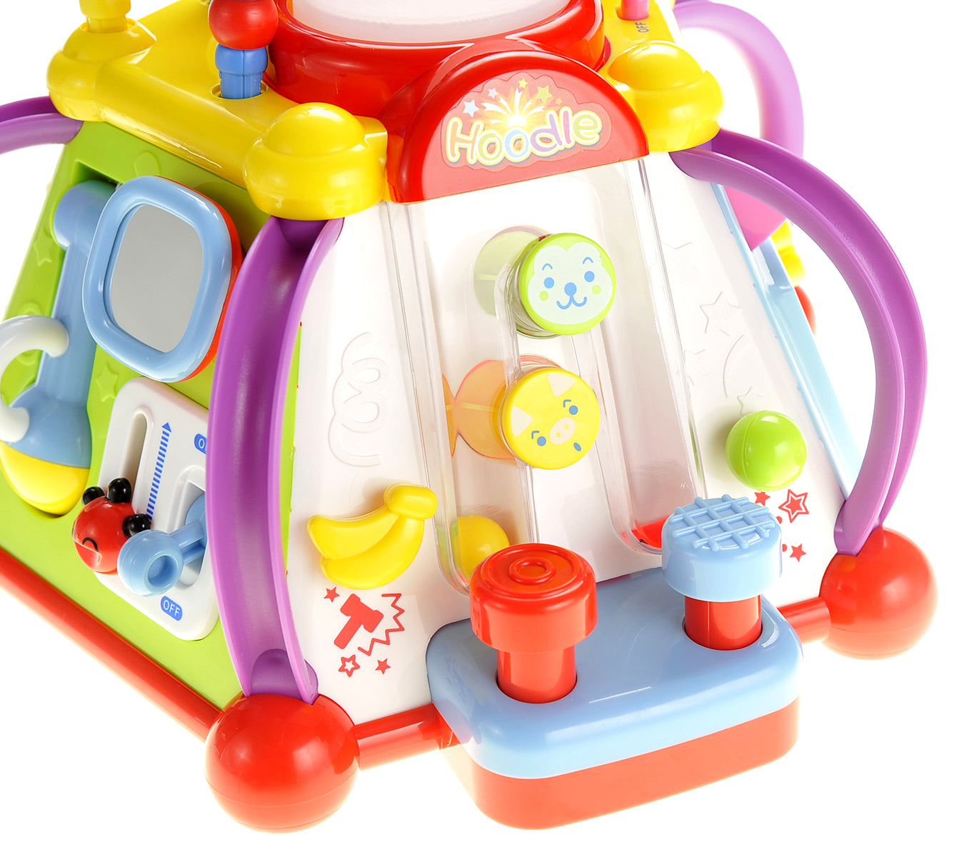 Musical Activity Cube Play Center With Lights