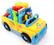 Load image into Gallery viewer, Multifunctional Take Apart Toy Tool Truck With Electric Drill And Tools For Kids