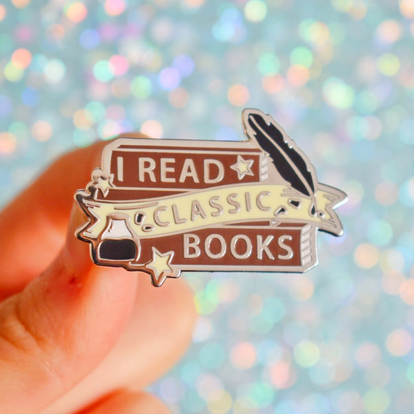 I READ... Bookish Enamel Pin Series