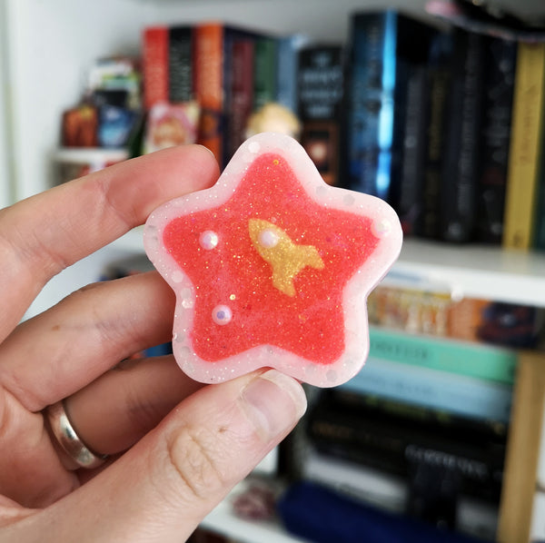 *CLEARANCE* Resin Small Stars & Hearts
