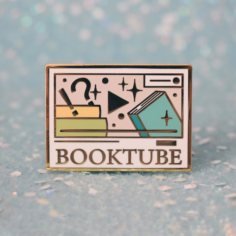*NEW* Booktube Enamel Pin - Light Mode