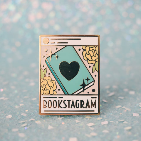 *NEW* Bookstagram Enamel Pin - Light Mode