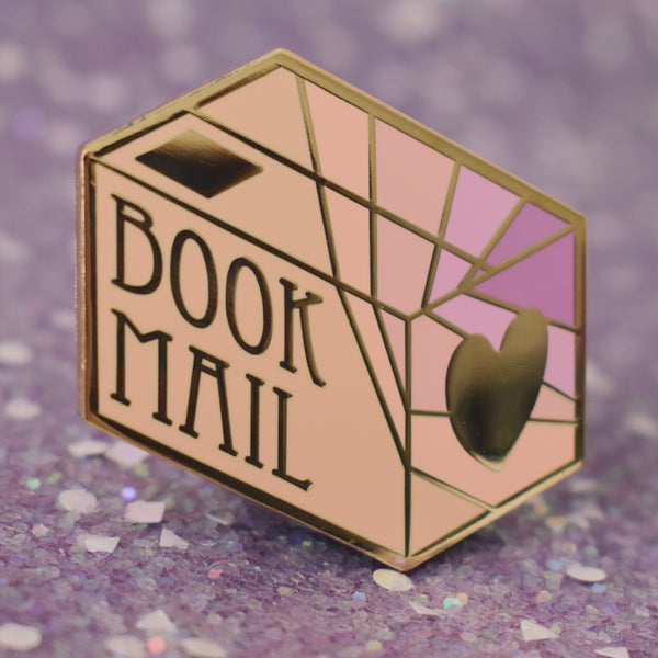 *NEW* Book Mail Enamel Pin
