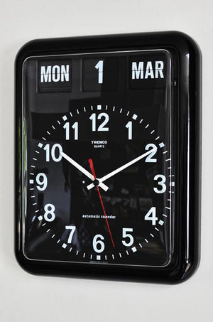 Open image in slideshow, Twemco BQ-12 flipclock - Flipclockshop