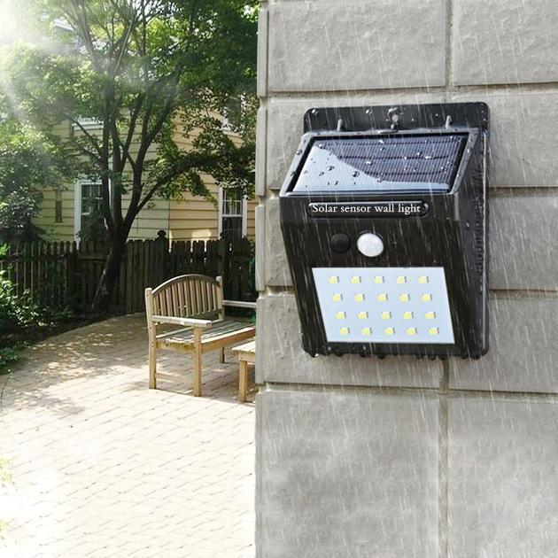 Solar Waterproof Wall Light - Unboxed Daily