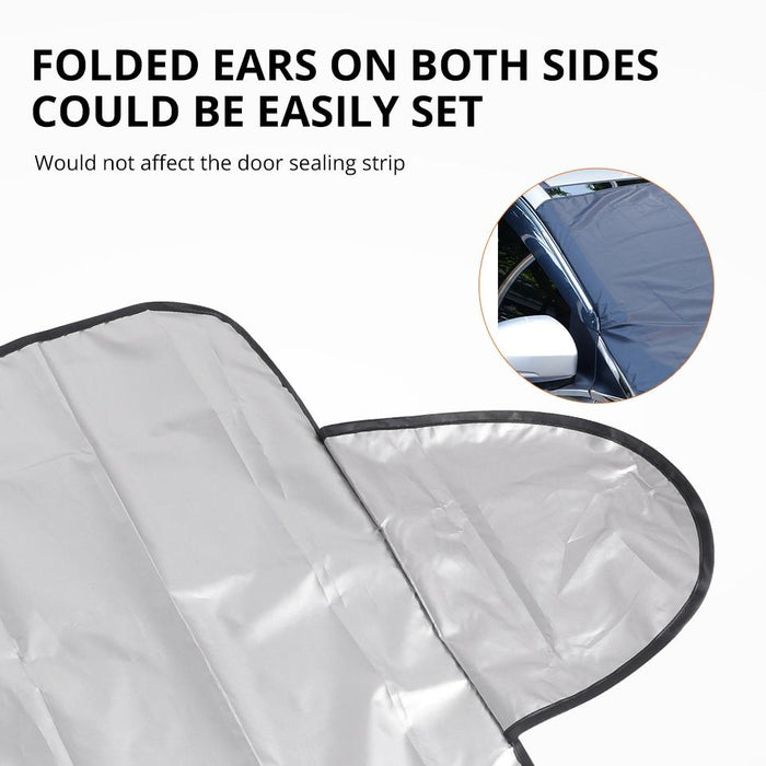 Windshield Snow Cover Sunshade - Unboxed Daily