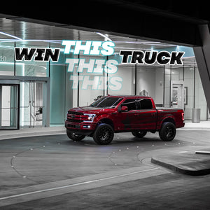 Win this 2018 Ford F-150 plus $6,000 cash. Dream Truck Givaway. Enrforce