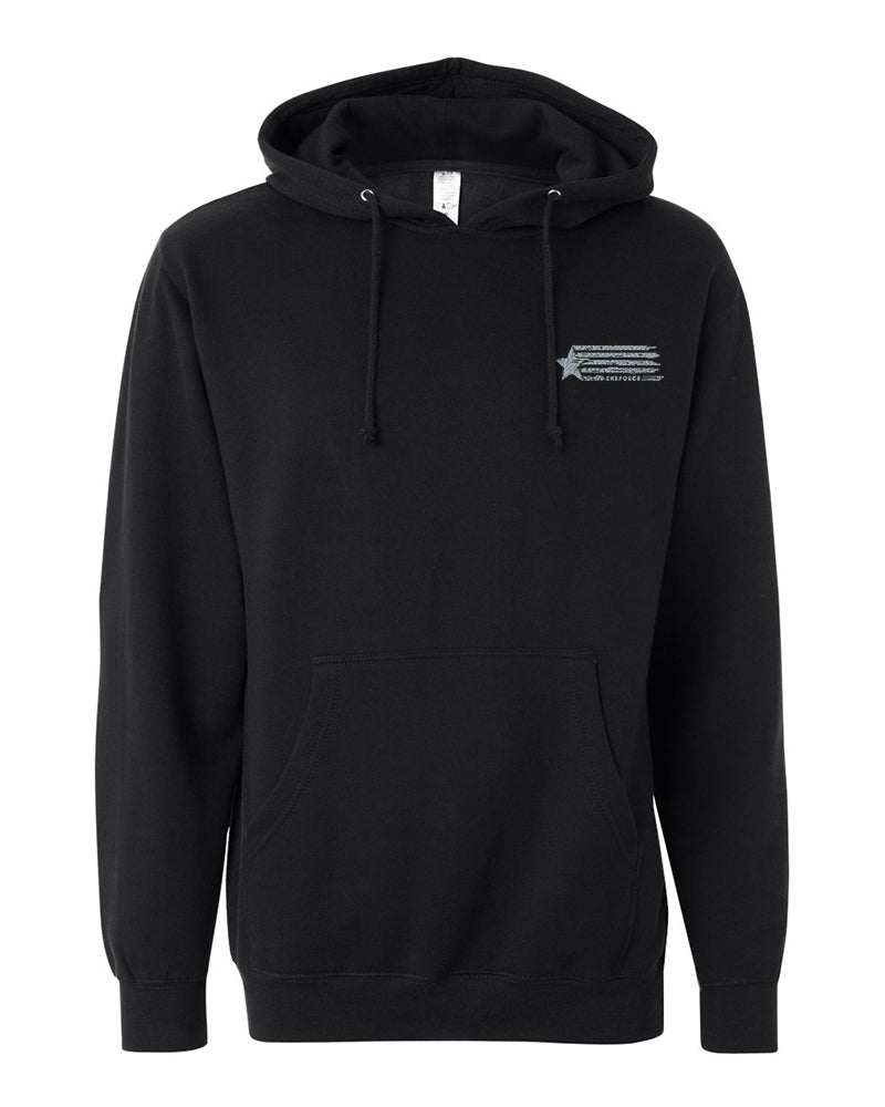 Embroidered Clean Hoodie