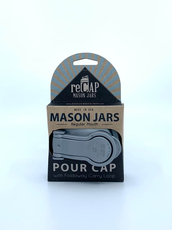 reCAP Mason Jars Pour Cap - Regular Mouth