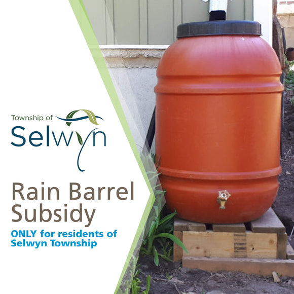 BRT Recycled Rain Barrel - Selwyn Township Subsidized