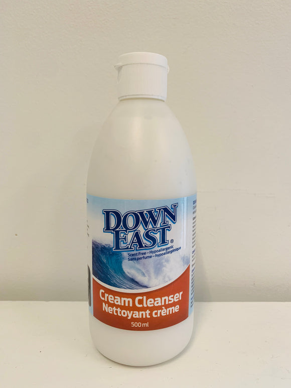 Down East Cream Cleanser 500mL