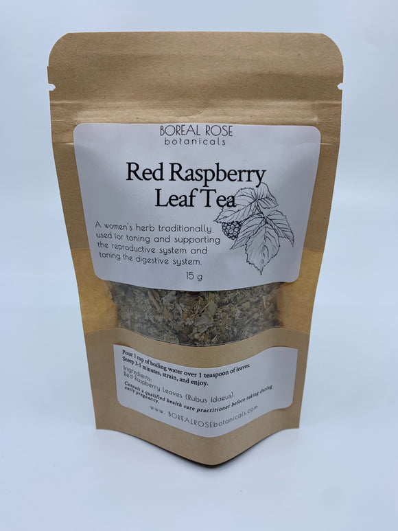 Boreal Rose Botanicals Red Raspberry Leaf Tea 15g