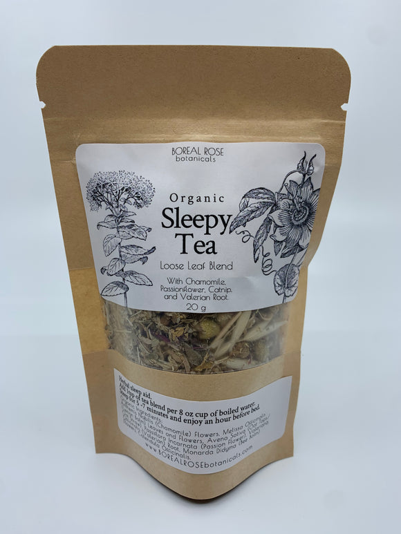 Boreal Rose Botanicals Organic Sleepy Tea 20g