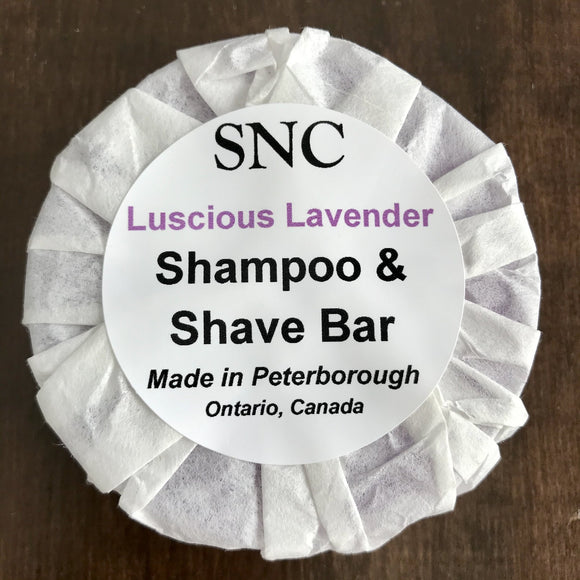 Simply Natural Canada Shampoo and Shave Bar – Luscious Lavender