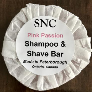 Simply Natural Canada Shampoo and Shave Bar – Pink Passion