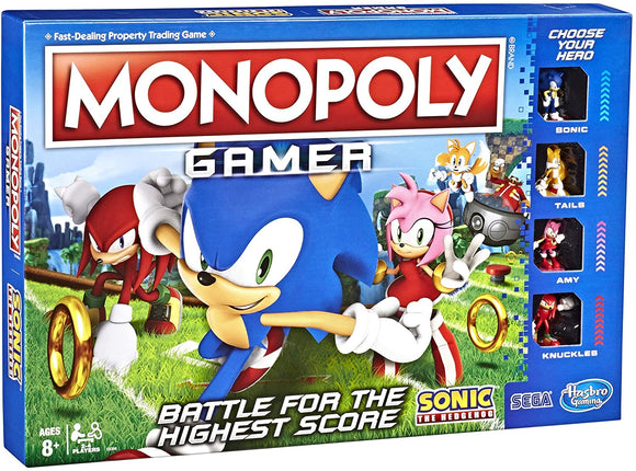 Monopoly Gamer: Sonic the Hedgehog