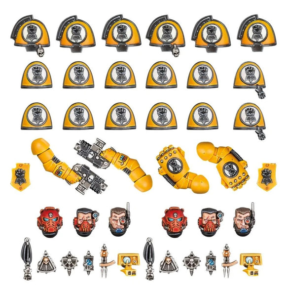 Imperial Fists: Primaris Upgrade Kit