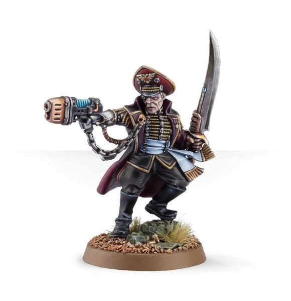 Astra Militarum: Commissar