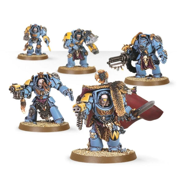 Space Wolves: Wolf Guard Terminators
