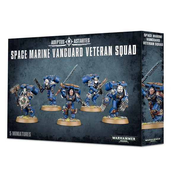 Space Marines: Vanguard Veteran Squad