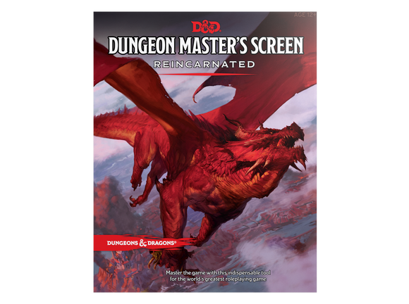 D&D 5E: Dungeon Master's Screen Reincarnated