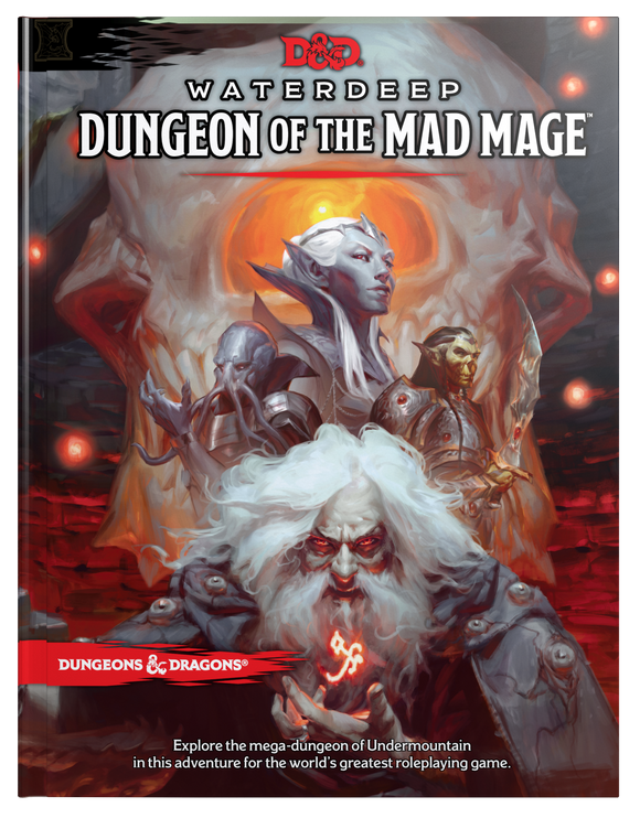 D&D 5E: Waterdeep: Dungeon of the Mad Mage