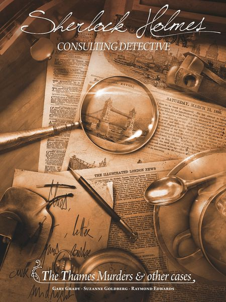 Sherlock Holmes Consulting Detective, The Thames Murders & Other Cases