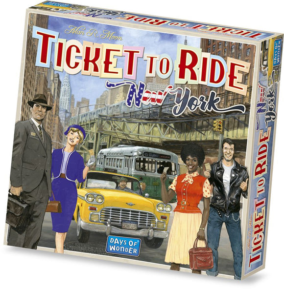 Ticket to Ride Cities