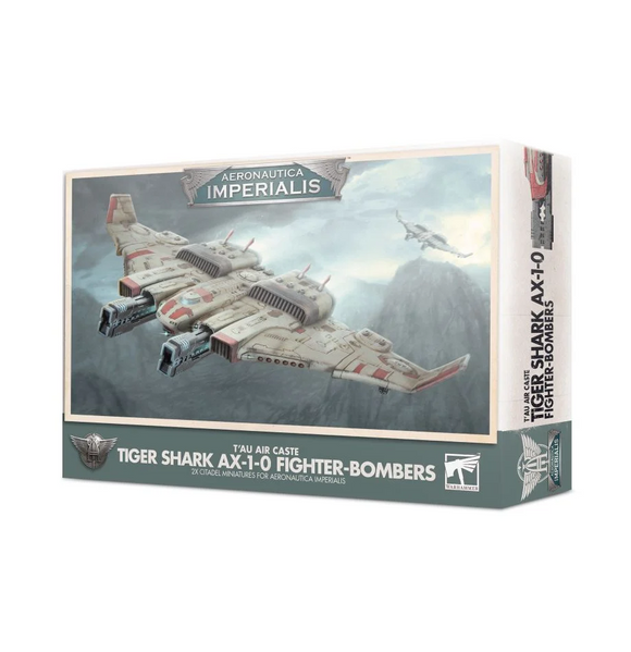 Aeronautica Imperialis: T'au Air Caste Tiger Shark AX-1-0 Fighter-Bomber