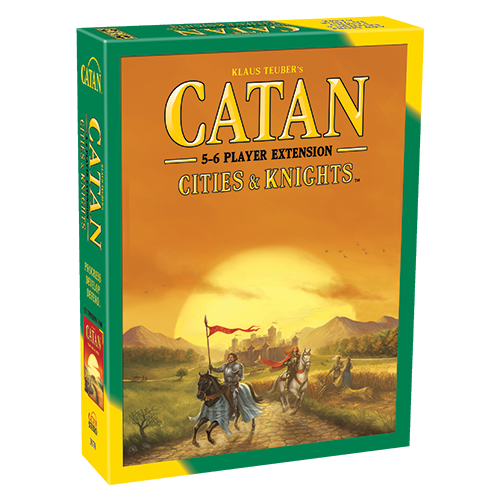 Catan: Cities & Knights – Extension for 5-6 Players