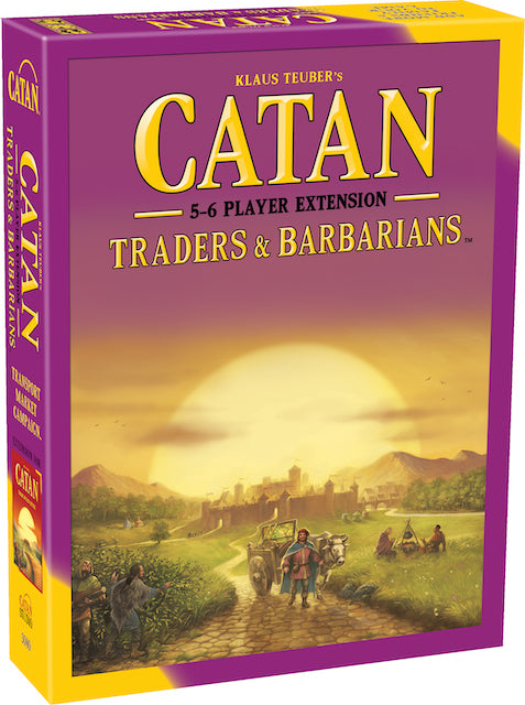 Catan: Traders & Barbarians – Extension for 5-6 Players