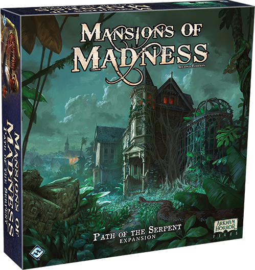 Mansions of Madness 2nd Ed: Path of the Serpent Expansion