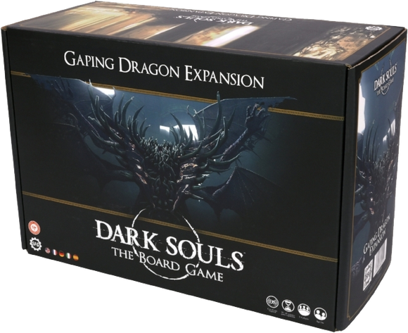 Dark Souls the Board Game: Gaping Dragon Boss Expansion