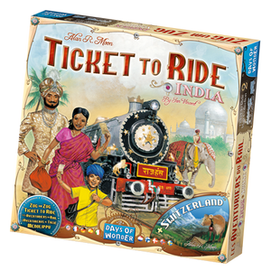 Ticket to Ride: India Map Collection