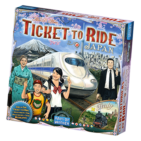 Ticket to Ride: Japan Map Collection