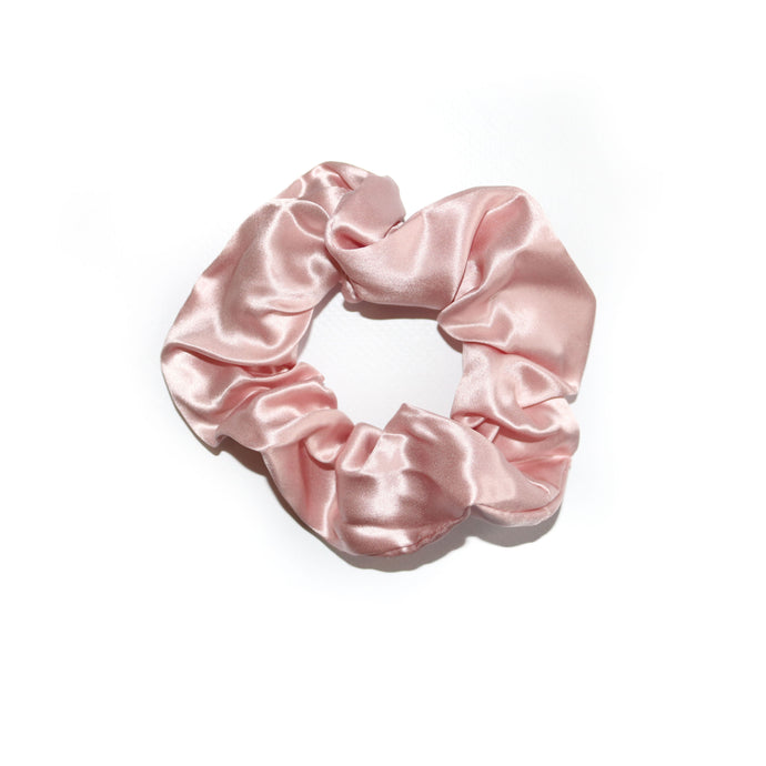 Luxury Silk Blush Scrunchie