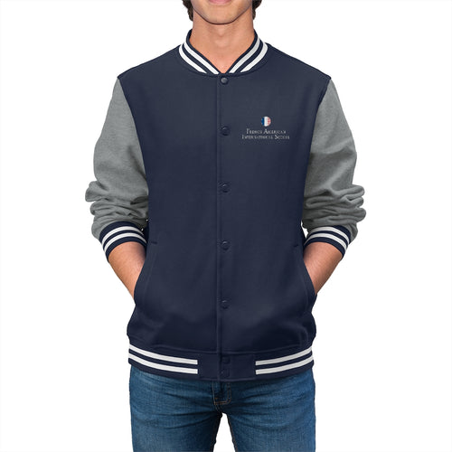 FAIS - Men's Embroidered Varsity Jacket