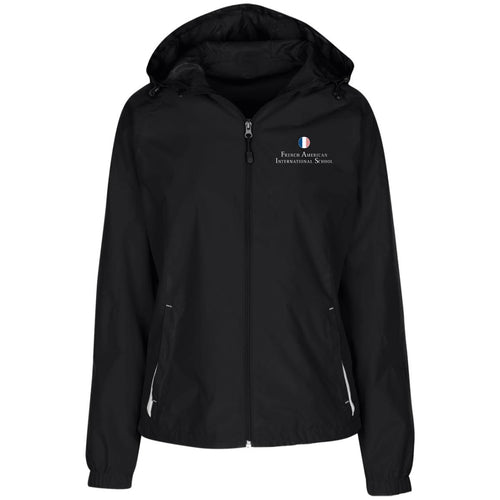 FAIS - Ladies' Jersey-Lined Hooded Windbreaker