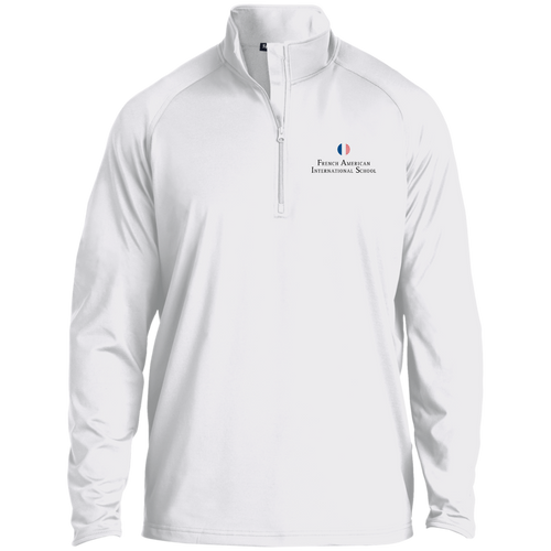 FAIS - Men's Embroidered 1/2 Zip Performance Pullover