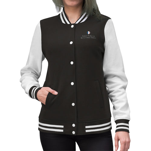 FAIS - Women's Embroidered Varsity Jacket
