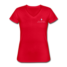 Load image into Gallery viewer, FAIS - Women's V-Neck T-Shirt - red