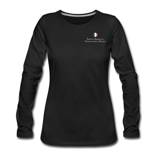 FAIS - Women's Premium Long Sleeve T-Shirt - black