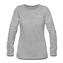 Load image into Gallery viewer, FAIS - Women's Premium Long Sleeve T-Shirt - heather gray