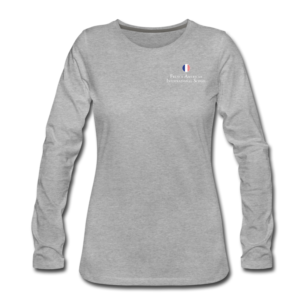 FAIS - Women's Premium Long Sleeve T-Shirt - heather gray