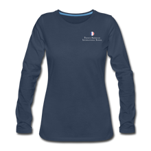 Load image into Gallery viewer, FAIS - Women's Premium Long Sleeve T-Shirt - navy