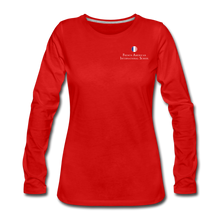 Load image into Gallery viewer, FAIS - Women's Premium Long Sleeve T-Shirt - red